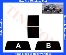 Pre Cut Window Tint Mitsubishi L-200 93-06 Rear Window & Rear Sides Any Shade