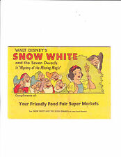Snow White     : 1958 :      : Food Fair Giveaway! :
