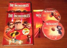 The Incredibles (DVD, 2005, 2-Disc Widescreen Collector's Edition) Disney pixar