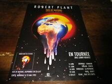 ROBERT PLANT - Publicité de magazine / Advert !!! FATE OF NATIONS !!!