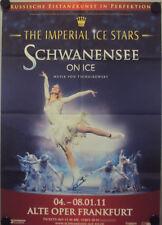 Original Plakat Schwanensee on Ice, Frankfurt 2011 DIN A3