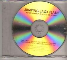 (BT146) Jumping Jack Flash, Money Makes The World Go Round - DJ CD