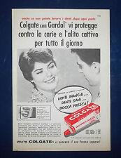 A094-Advertising Pubblicità-1959-DENTIFRICIO COLGATE