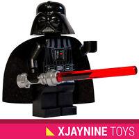 GENUINE LEGO STAR CLONE WARS Darth Vader Sith Lord Minifig + Lightsaber NEW RARE