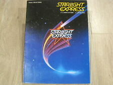 Starlight Express Vocal Selections Musical Sheet Music Song Book Songbook