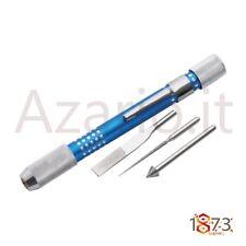 Mandrino alluminio 4 accessori lime alesatori diamantati Diamond Beading Reamer