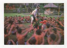 Bali Kecak Dance 1989 Postcard 365a