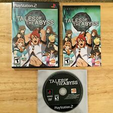 Tales of the Abyss Sony Playstation 2 PS2 System Complete Game