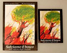 (PRL) ADESIVO CORPO FORESTALE DELLO STATO SALVIAMO IL BOSCO COLLECTION STICKER