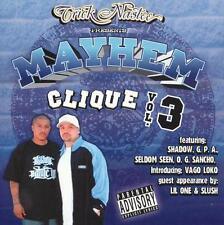 New: Slush, Lil One, Vago Loko, O. G.: Trick Nastee Presents Mayhem Clique 3 Exp