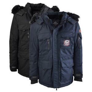 Parka Giubbotto Geographical Norway Arthur Giacca imbottita Jacket Uomo WR068H