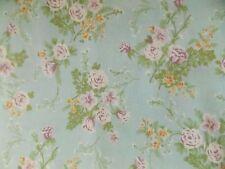 WtW Fabric Floral Flower Garden Shabby Cottage Colorshop Cranston Chintz  Quilt