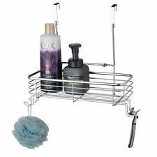 Cabinet Over the Door Shower Caddy Bathroom Storage Basket.Stainless steel Shelf