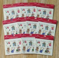 ⛪ 10 Sealed Packs of Vtg Christmas & Holiday Stickers - Angels & Nativity 👼