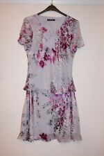 LOVELY JACQUES VERT FLORAL PATTERNED MATCHING SKIRT (SIZE 16) & TOP (SIZE 14)