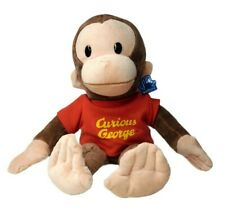 Curious George 16 inch Large Monkey Classic Plush with Red Shirt by Applause