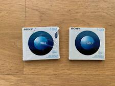 2x Minidisc 1go Sony Hi-MD second generation emballés