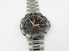 TAG Heuer Formula 1 Chronograph Grande Date CAH1015.BA0855 Black 44mm F1 Chrono