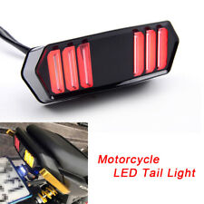 Motorcycle Integrated Brake Lamp LED Turn signal Stop Running Tail Light