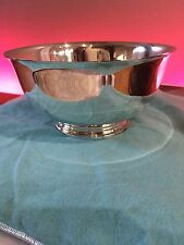 "$1500 TIFFANY & CO Makers Sterling Paul Revere 6.75"" Bowl 375 Grams Monogram COX"