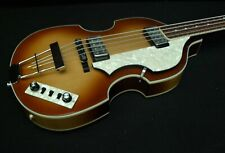 B STOCK Hofner HCT-500/1 CONTEMPORARY BEATLE BASS GREAT VINTAGE LOOK Light Brown