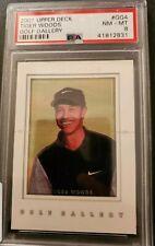 2001 Upper Deck Tiger Wood's Golf Gallery  Card. PSA NM-MT 8.  #41812831