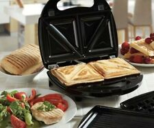 New Cooks 3 In 1 Electric Grill Indoor Griddle Flat Sandwich Panini Waffle Maker