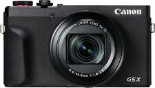 Canon - PowerShot G5 X Mark II 20.1-Megapixel Digital Camera - Black