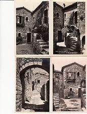 Lot 4 cartes postales anciennes EZE le village 2