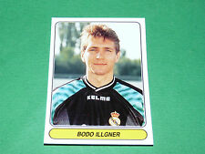 N°5 BODO ILLGNER REAL MADRID ESPAÑA PANINI EUROPEAN FOOTBALL STARS 1996-1997