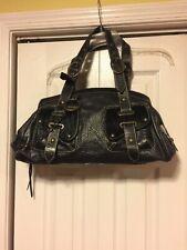 Claudia Firenze  Black Leather Handbag Italy