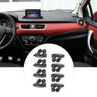 8 X Adhesive Car Auto Wire Clips Cord Earphone USB Cable Clamp Holder Organizer