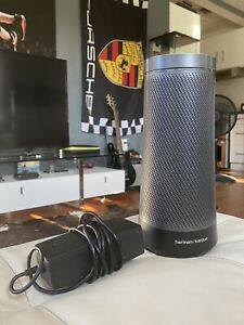 Awesome Harman Kardon Smart Speaker Bluetooth w/ Cortana by Microsoft Invoke
