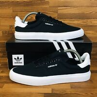 Adidas Originals 3MC Vulc Men's Skate Shoes Black White Casual Sneakers