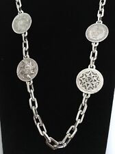 """RARE MEXICO STERLING SILVER 925 CHAIN 28"""" NECKLACE 152g (Y167)"""