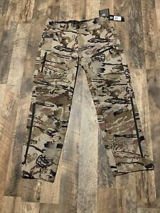 Under Armour Ridge Reaper Raider Pants Barren Camouflage 34 x 30 1316961-999 New