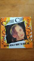 45T vintage - culture club - do you really want to hurt me -