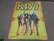 VTG KISS FLAG TOUR ROCK METAL CONCERT TOUR WANNA ROCK N ROLL 2008