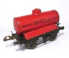 "Rare 1940's Hornby O Gauge Red ""SHELL"" Gas/Petrol Tanker"