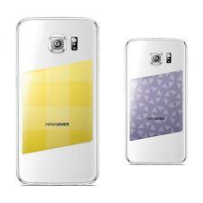 2 Skins for smartphones   medium JUICY CANDLE/lavanda + PICNIC/yellow