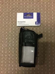MOTOROLA GP328/GP338 LEATHER CARRYING CASE (PMLN4280A)