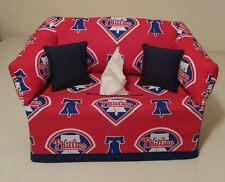 MLB Philadelphia Phillies Tissue Box Cover Handmade
