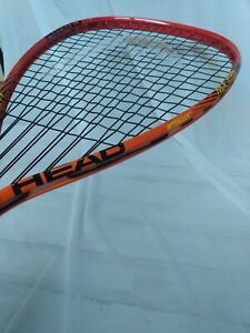 Head Metallix MX Fire Unchain the Power Racquetball Racquet 3 5/8