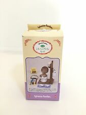 Vintage 1994 Japan Sylvanian Families (Calico Critters US) Porcelain Bathroom.