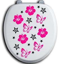 56 Auto Aufkleber Hibiskus Blumen Schmetterlinge HAWAII WANDTATTOO Stern Star ax