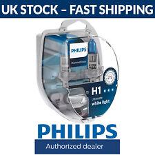 Philips Diamond Vision 5000K H1 Car Headlight Bulbs (Twin Pack of Bulbs)