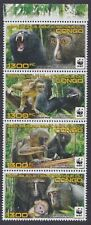 Monkeys Congolese Stamps