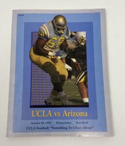 1944 UCLA Bruins v Cal Bears Football Program Ex 15843 College Programs