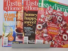 3 Taste of Home Cooking Magazines Dec 2011/Jan 2012, Feb/Mar 2014, Feb/Mar 2015