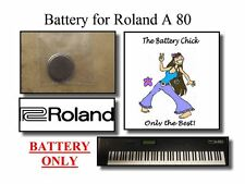Battery for Roland A-80 MIDI Controller - Internal Backup Mem Replacement Battey